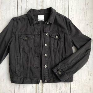 Aritzia Community Black Denim Jacket - Size M
